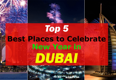 Top 5 Best Places in Dubai to Eat and Celebrate New Year 2017