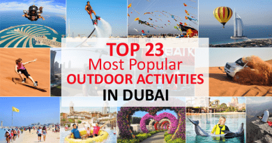 Outdoor Activities in Dubai