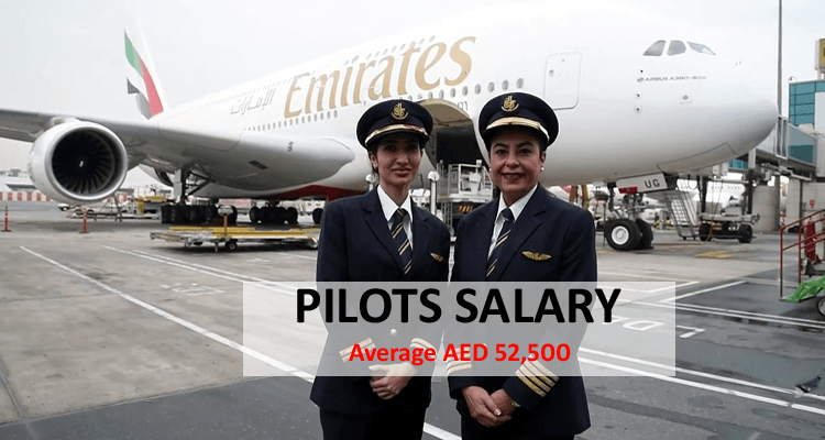 Pilot Salary in Dubai