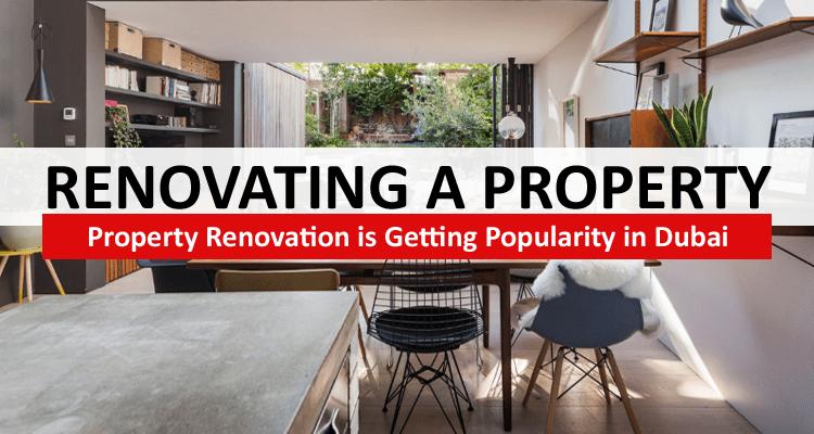 Renovating Property in Dubai
