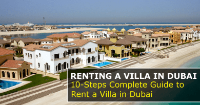 Renting Villa in Dubai