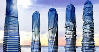 Rotating Skyscrapper Dubai