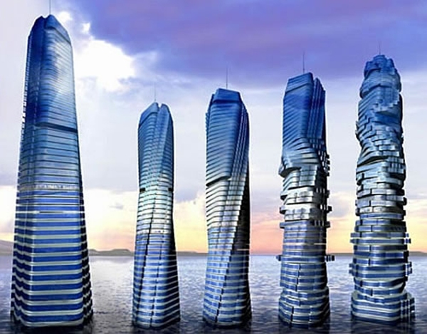Rotating Skyscrapper Dubai