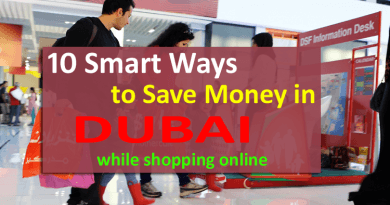 save money in dubai