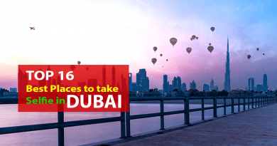 Top 16 Places To Take Best Selfie In Dubai