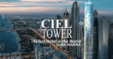 Worlds Tallest Hotel Ciel Dubai