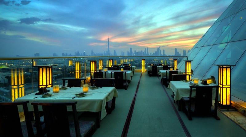 tomo restaurant in Dubai