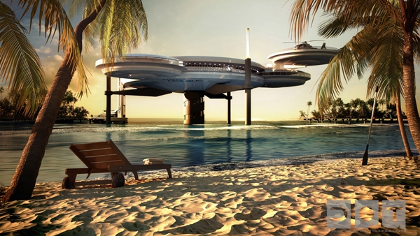 worlds largest underwater hotel is set to build soon in dubai