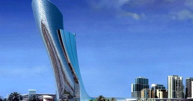 Worlds Most Inclined Tower in Dubai