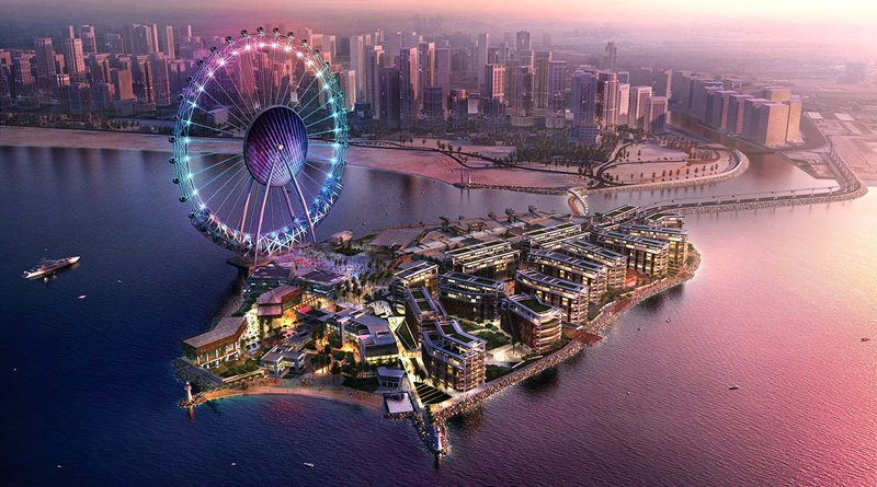 Bluewater Island and Dubai Eye