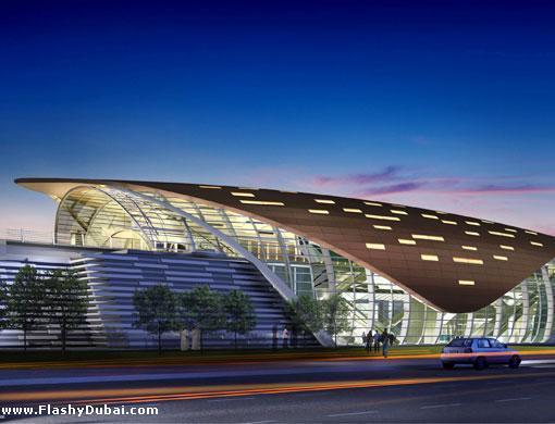 Heritage Inspired Design Of Dubai Metro Station Gets