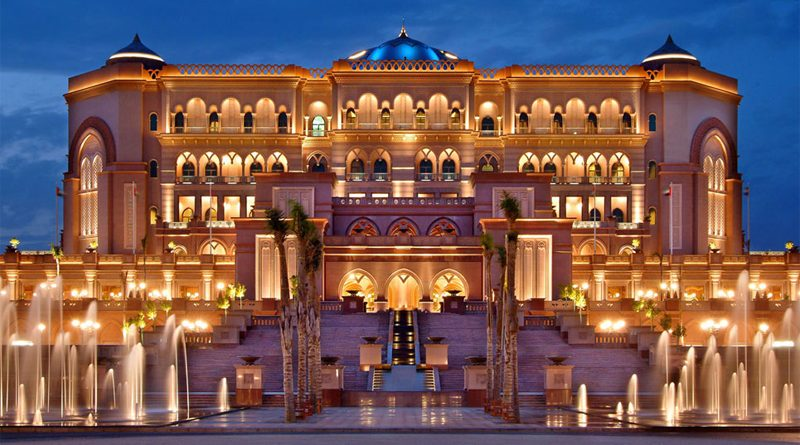 The emirates palace the 2nd most expensive hotel built on for Most expensive hotel room in dubai